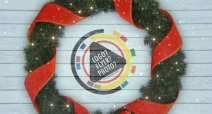 Christmas Wreath Logo