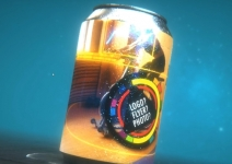 Energize Beverage Can