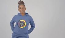 Black Female Hoodie
