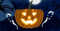 Spooky Jack-O-Lantern Logo Reveal