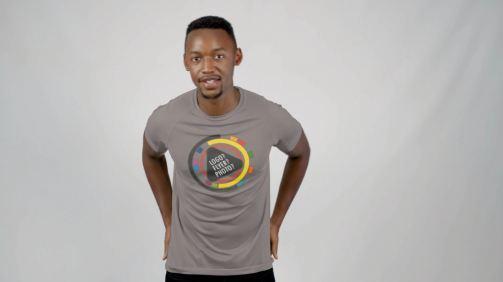 Black male T-shirt