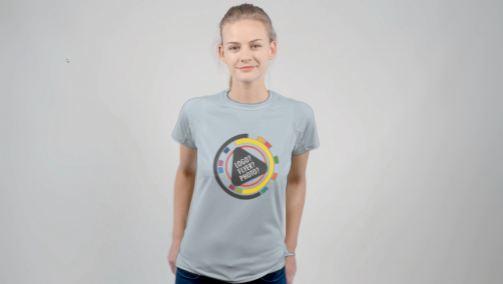 White Female T-Shirt