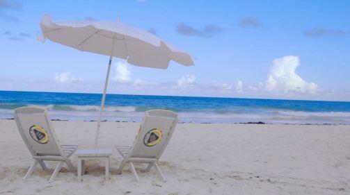 Sunshade and Chairs